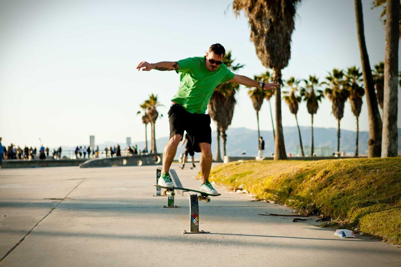 Rail Slide Venice Beach