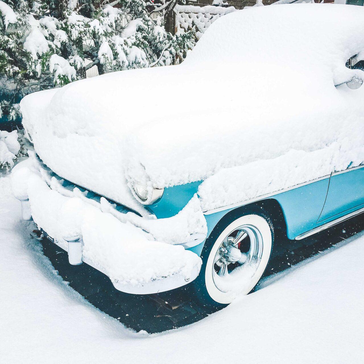Frosty snowed in